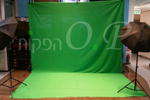 מסך ירוק - Green Screen